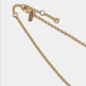 Alexis Bittar Jewelry - Alexis Bittar Swarovski Crystal & Gold Necklace